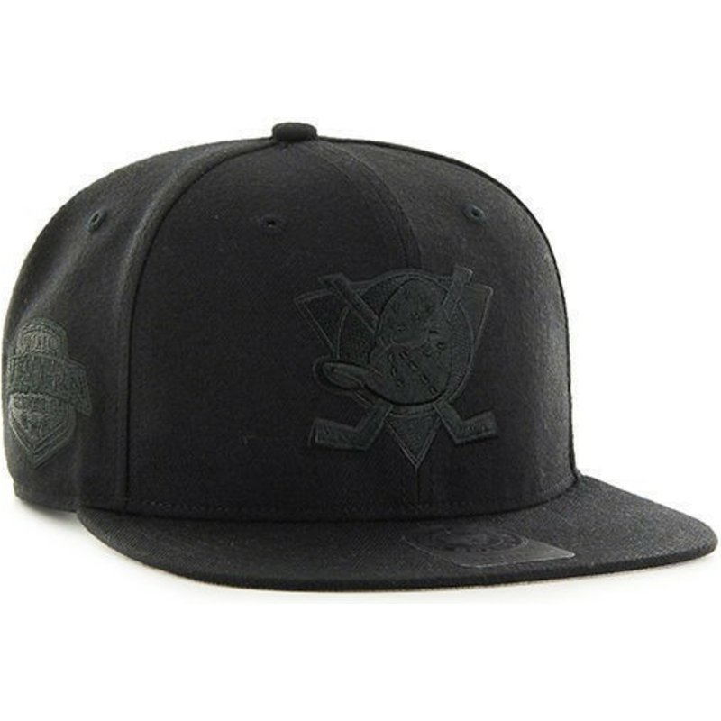 47-brand-flat-brim-black-logo-anaheim-ducks-nhl-captain-black-snapback-cap