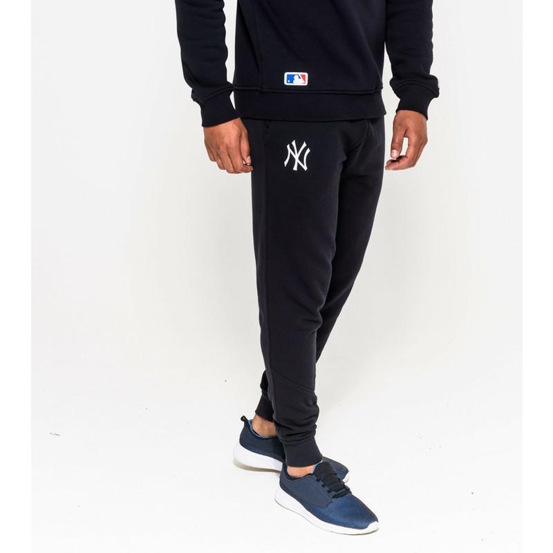 New Era Track Pant New York Yankees Mlb Navy Blue Long Track Pant Caphunters Co Uk