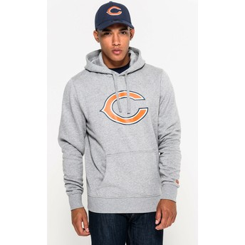 New Era Chicago Bears NFL Grey Pullover Hoodie Sweatshirt