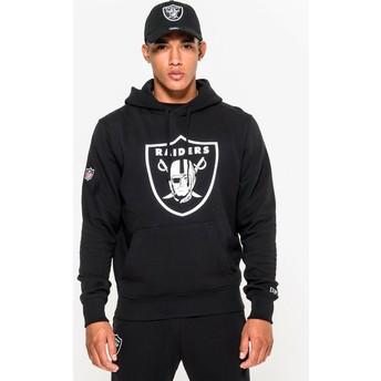 New Era Las Vegas Raiders NFL Black Pullover Hoodie Sweatshirt