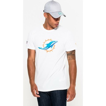 New Era Miami Dolphins NFL White T-Shirt