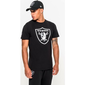New Era Las Vegas Raiders NFL Black T-Shirt