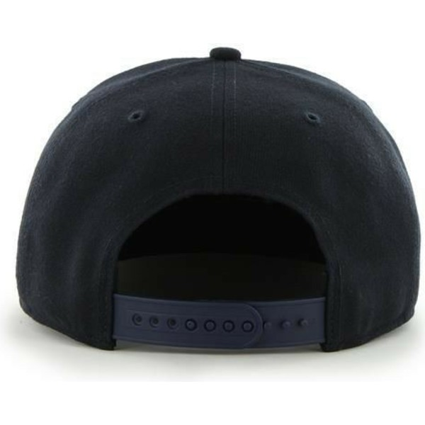 47-brand-flat-brim-new-york-yankees-mlb-sure-shot-captain-black-snapback-cap