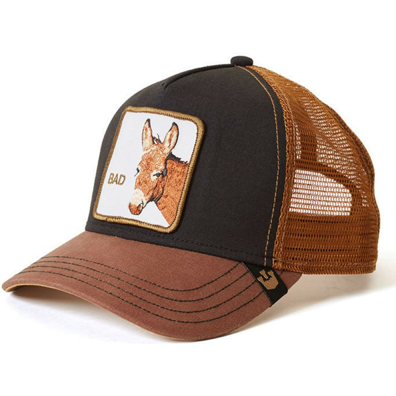 goorin-bros-donkey-bad-ass-brown-and-black-trucker-hat
