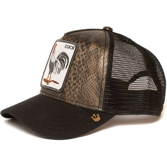 Goorin Bros. Rooster Tropical Black Trucker Hat