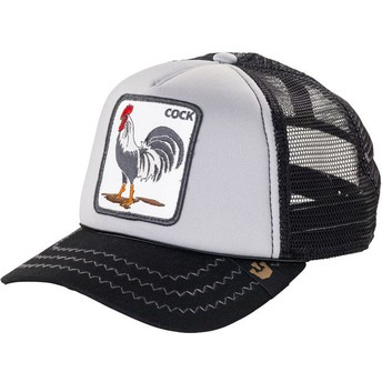 Goorin Bros. Rooster Checkin' Traps Grey Trucker Hat