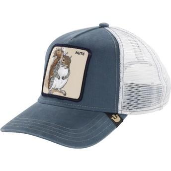 Goorin Bros. Squirrel Nutty Blue Trucker Hat