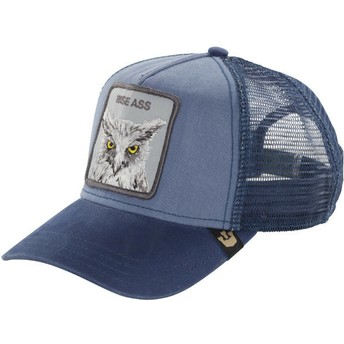 Goorin Bros. Owl Smarty Pants Blue Trucker Hat