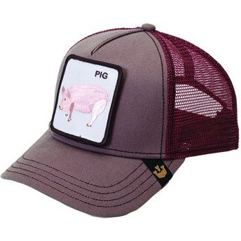 Goorin Bros. Pig Maroon Trucker Hat