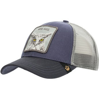 Goorin Bros. X the Owl Navy Blue Trucker Hat