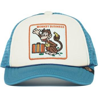 Goorin Bros. Youth Monkey Business Blue Trucker Hat