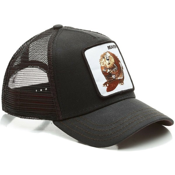 goorin-bros-beaver-waxed-black-trucker-hat
