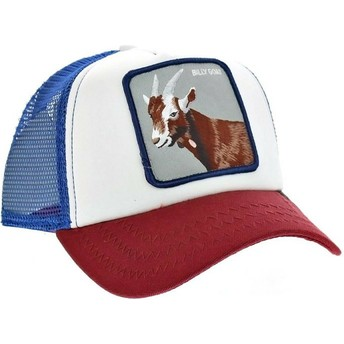 Goorin Bros. Goat Hickory Stick Blue Trucker Hat