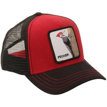 Goorin Bros. Woodpecker Woody Wood Red Trucker Hat