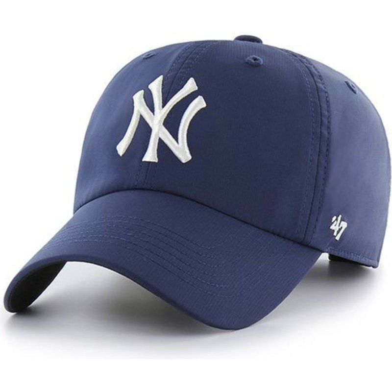 47-brand-curved-brim-new-york-yankees-mlb-clean-up-repetition-navy-blue-cap
