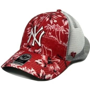 47 Brand New York Yankees MLB MVP South Coast Red Trucker Hat
