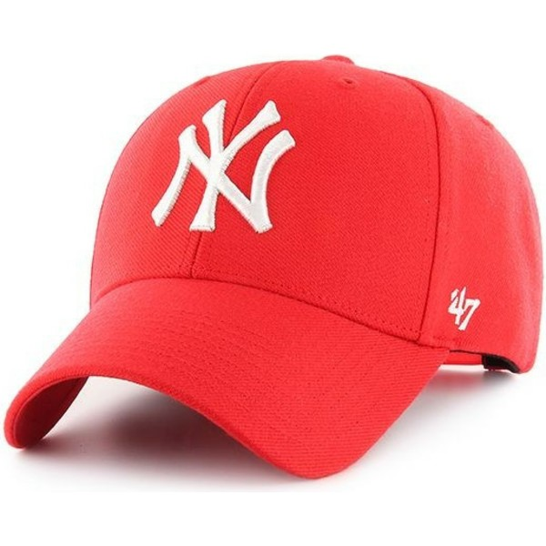 47-brand-curved-brim-new-york-yankees-mlb-mvp-red-snapback-cap