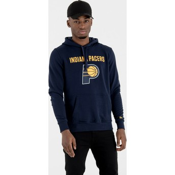 New Era Indiana Pacers NBA Navy Blue Pullover Hoody Sweatshirt