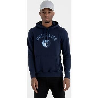 New Era Memphis Grizzlies NBA Navy Blue Pullover Hoody Sweatshirt