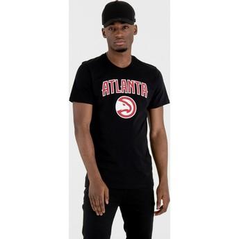 New Era Atlanta Hawks NBA Black T-Shirt