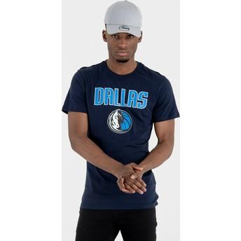 New Era Dallas Mavericks NBA Navy Blue T-Shirt