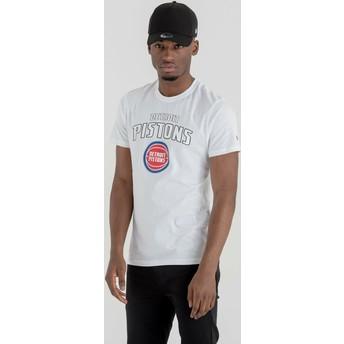 New Era Detroit Pistons NBA White T-Shirt