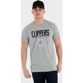New Era Los Angeles Clippers NBA Grey T-Shirt