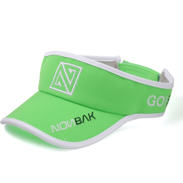 nonbak-anti-sweat-green-adjustable-visor