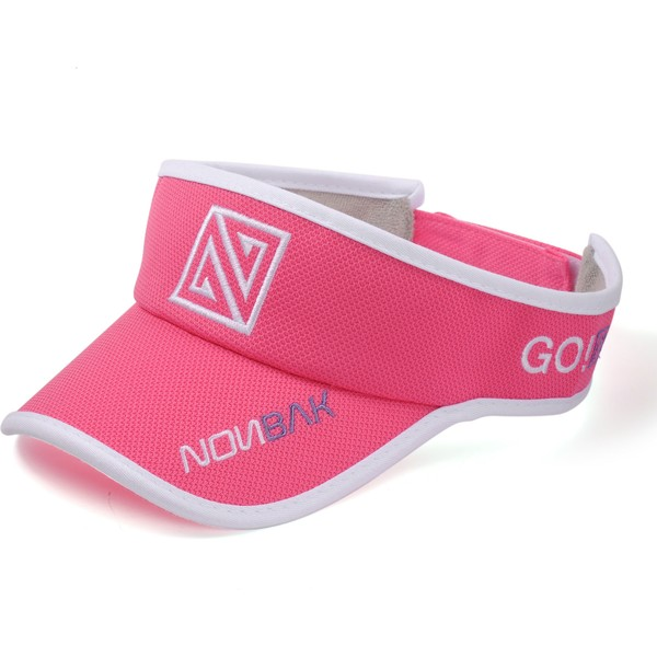 nonbak-anti-sweat-pink-adjustable-visor