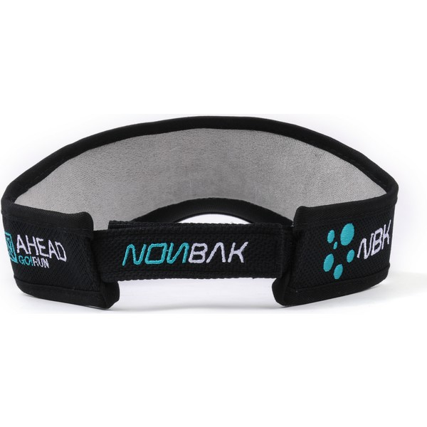 nonbak-anti-sweat-black-and-green-adjustable-visor