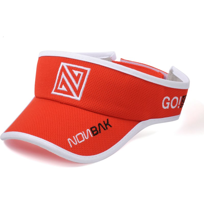 nonbak-anti-sweat-red-adjustable-visor