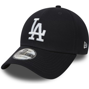 New Era Curved Brim 39THIRTY Classic Los Angeles Dodgers MLB Navy Blue Fitted Cap