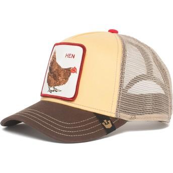 Goorin Bros. Chicken Hen Yellow Trucker Hat