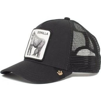 Goorin Bros. Gorilla King of the Jungle Black Trucker Hat
