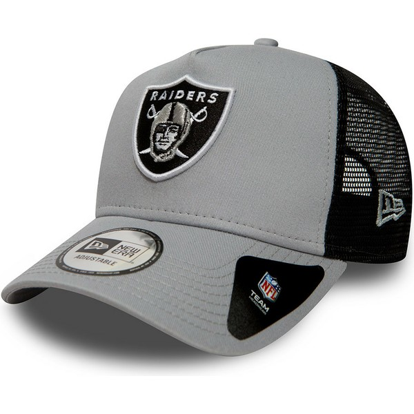 new-era-essential-a-frame-oakland-raiders-nfl-grey-trucker-hat