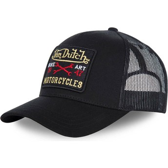 Von Dutch Curved Brim BLACKY2 Black Adjustable Cap