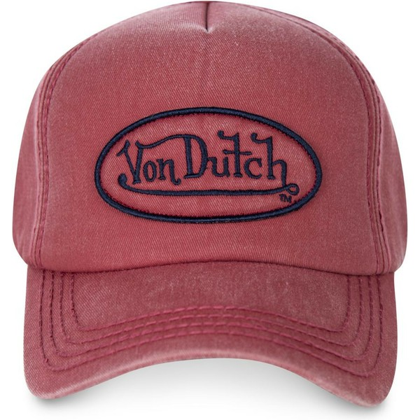 von-dutch-curved-brim-bob04-red-adjustable-cap