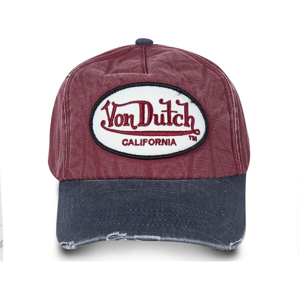 von-dutch-curved-brim-jackrb-red-and-blue-adjustable-cap