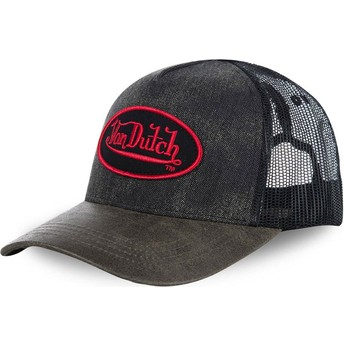 Von Dutch ROB Black Trucker Hat