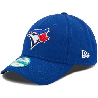 New Era Curved Brim 9FORTY The League Toronto Blue Jays MLB Blue Adjustable Cap
