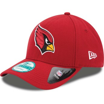 New Era Curved Brim 9FORTY The League Arizona Cardinals NFL Red Adjustable Cap