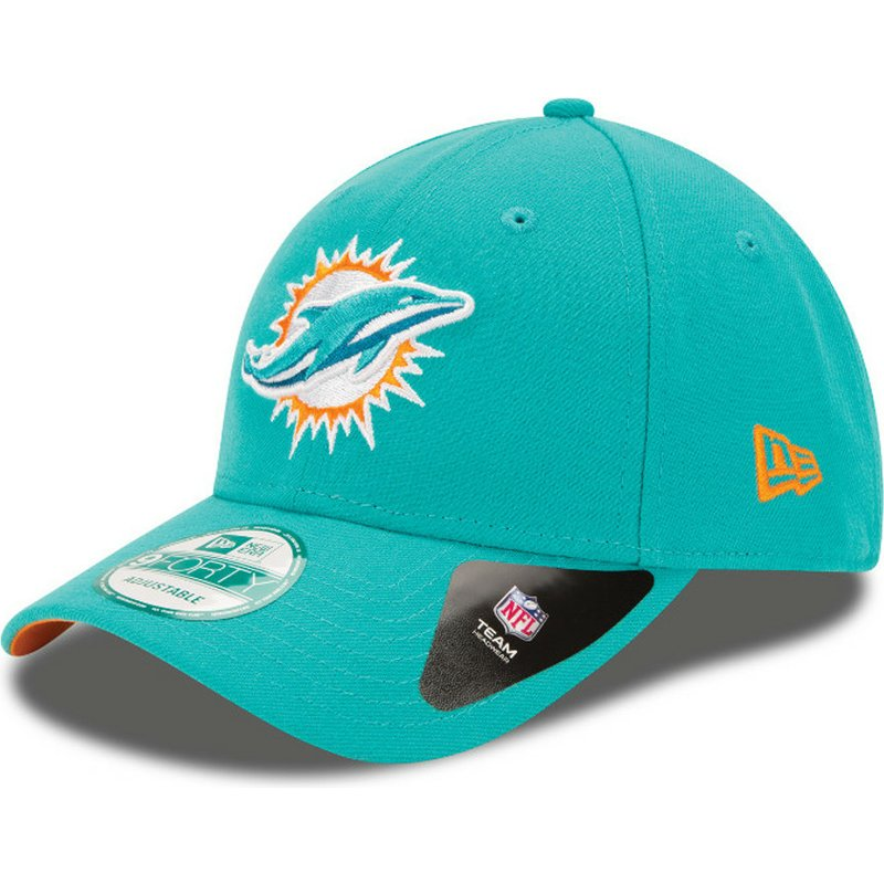new-era-curved-brim-quitar-the-league-y-poner-team9forty-team-miami-dolphins-nfl-blue-adjustable-cap