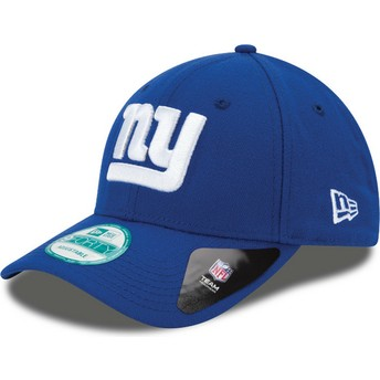 New Era Curved Brim 9FORTY The League New York Giants NFL Blue Adjustable Cap
