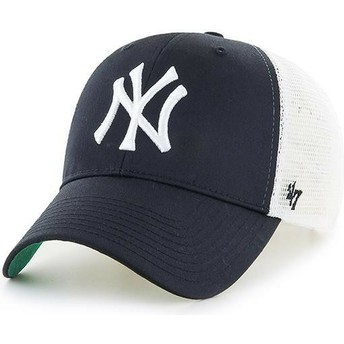 47 Brand Youth New York Yankees MLB MVP Branson Black Trucker Hat