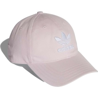Adidas Curved Brim Trefoil Classic Light Pink Adjustable Cap