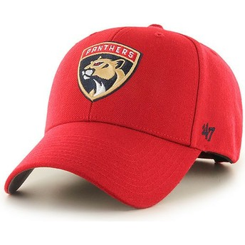 47 Brand Curved Brim Florida Panthers NHL MVP Red Cap