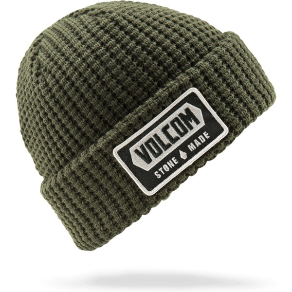 volcom-dark-green-shop-green-beanie