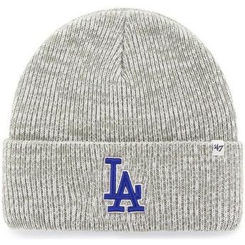 47 Brand Los Angeles Dodgers MLB Cuff Knit Brain Freeze Grey Beanie