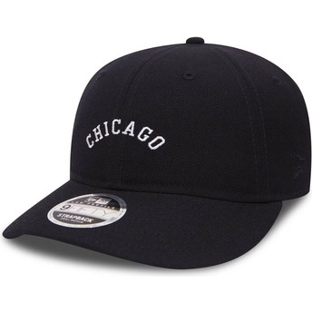 New Era Curved Brim 9FIFTY Low Profile City Series Chicago White Sox MLB Navy Blue Adjustable Cap