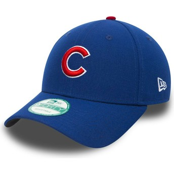 New Era Curved Brim 9FORTY The League Chicago Cubs MLB Black Adjustable Cap